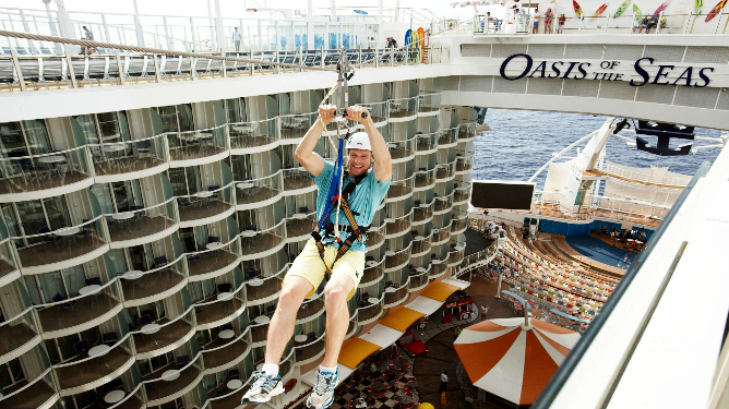 Royal Caribbean - Action & Adventure on board
